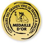 Une médaille d'or à Macon pour la cuvée X4 !
